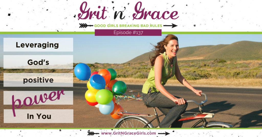 girl riding bike - You can be empowered by the Holy Spirit; it's a promise!