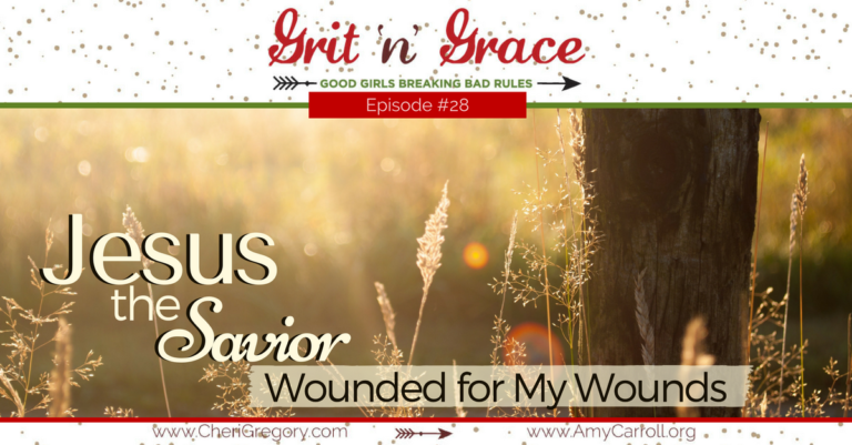 Episode #28: Jesus, the Savior—Wounded for My Wounds