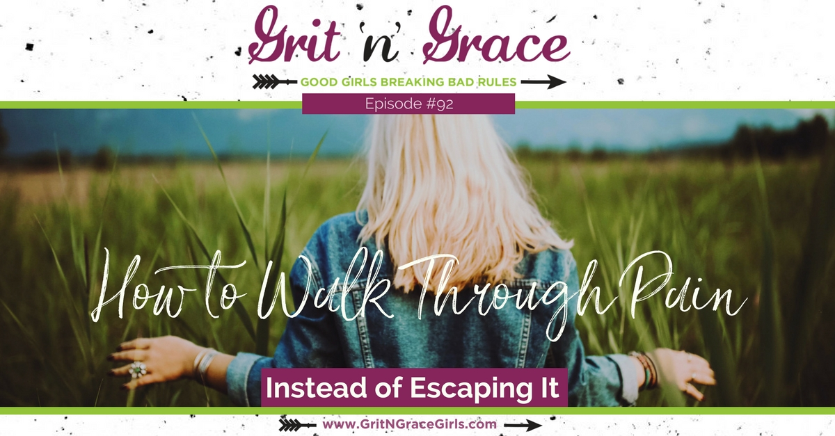 How to Walk Through Pain Instead of Escaping It