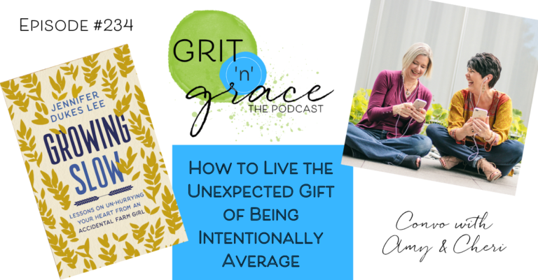 Episode #234: How to Live the Unexpected Gift of Being Intentionally Average